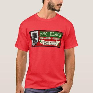 pro pièce en t ROUGE masculine NOIRE T-shirts