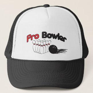 Pro Pin de bowling de lanceur et boule Casquette