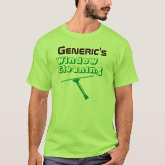 Pro T-shirt vert de laveur de vitres
