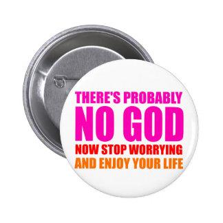Probablement aucun Dieu Pin's
