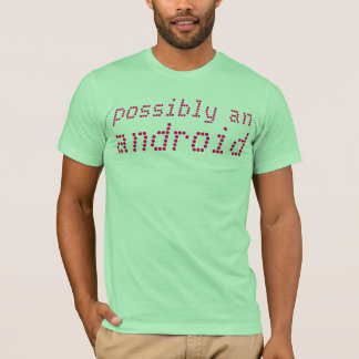 probablement un androïde t-shirt