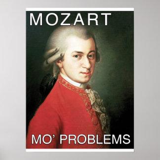 PROBLÈMES DE MOZART MO POSTER