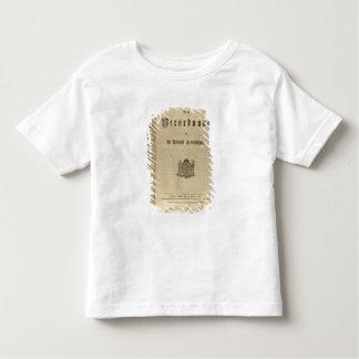 Procédure légale de 1776 t-shirt pour les tous petits