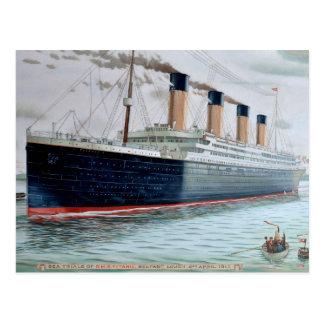 Procès de mer de RMS Titanic Cartes Postales