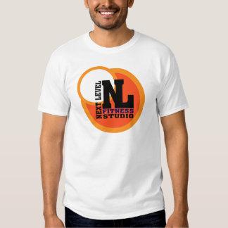 Prochain emblème de niveau 2 de studio de forme t-shirt
