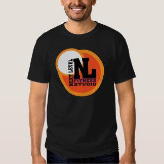 Prochain emblème de niveau 2 de studio de forme t-shirts