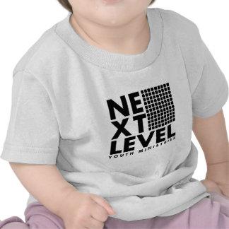 Prochain logo officiel de niveau t-shirt