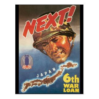 Prochaine guerre mondiale 2 carte postale