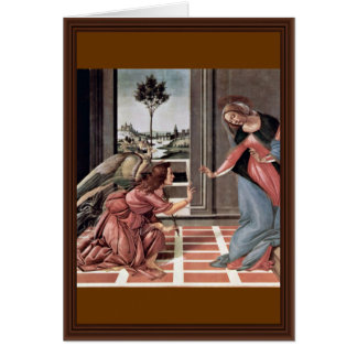 Proclamation par Botticelli Sandro (la meilleure Cartes