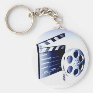 Producteur de film porte-clé rond