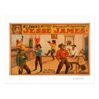 Production spectaculaire occidentale de Jesse Carte Postale