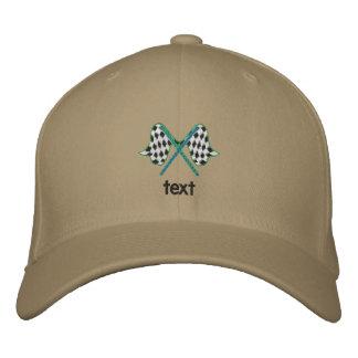 Produit brodé d'essai de casquette casquette brodée