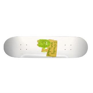 Produit cultivé sur place de coeur de l'olive I Skateboards Personnalisables