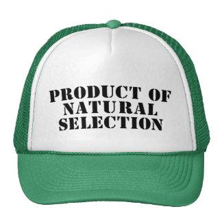 Produit de sélection naturelle casquette trucker