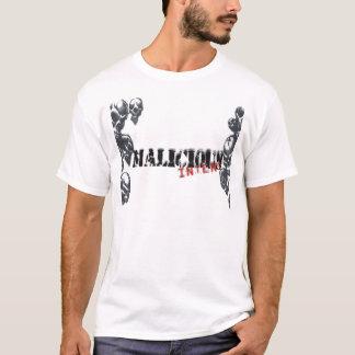 Produits attentifs malveillants t-shirt