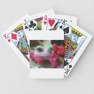 Produits bourrés de poupée de crabe jeu de poker