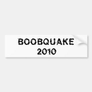 Produits de BOOBQUAKE 2010 Autocollant De Voiture