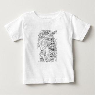 Produits de croquis de graffiti de mot de hip-hop t-shirt pour bébé