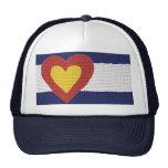 Produits de drapeau du Colorado du coeur I ! Casquette De Camionneur