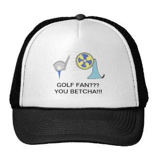 produits de fan de golf casquette de camionneur