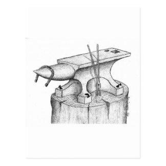 Produits de forgeron et de maréchal-ferrant carte postale