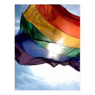 Produits de gay pride carte postale
