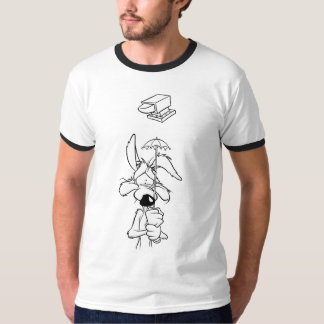 Produits de point culminant de coyote du Wile E T-shirt