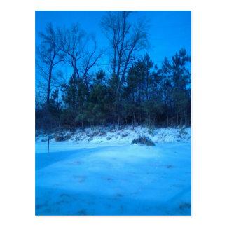Produits de scène d'hiver cartes postales