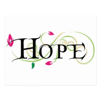 Produits d'espoir carte postale