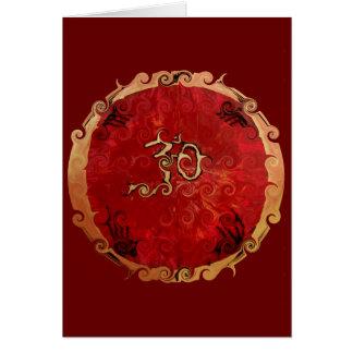 Produits d'ohm carte de vœux
