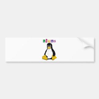 Produits et conceptions de Linux ! Autocollant De Voiture