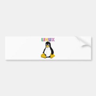 Produits et conceptions de Linux ! Autocollant Pour Voiture