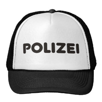 Produits et conceptions de Polizei ! Casquettes