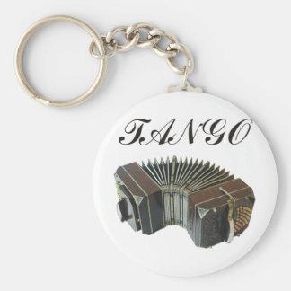 Produits et conceptions de tango ! Musique de l'Ar Porte-clé Rond