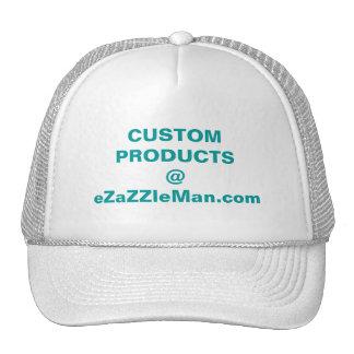 PRODUITS FAITS SUR COMMANDE @ eZaZZleMan.com Casquette