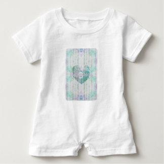 Produits faits sur commande multicolores de bébé barboteuse