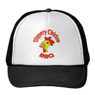 Produits glissants de BBQ de poulet Casquette