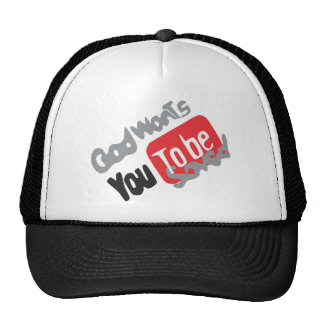 Produits god wants you tu le BE saved Casquettes