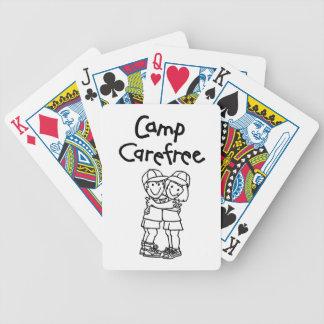 Produits insouciants de camp jeu de cartes