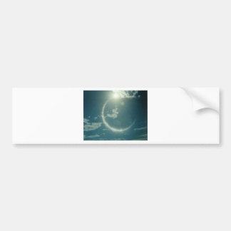 Produits multiples avec la photo de lune autocollant de voiture
