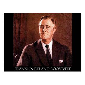 Produits personnalisables de Franklin Delano Carte Postale