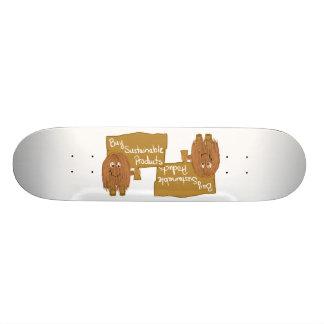 Produits viables de Brown Skateboard 20,6 Cm