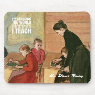 Professeur avec des étudiants. Cadeau Mousepads de Tapis De Souris