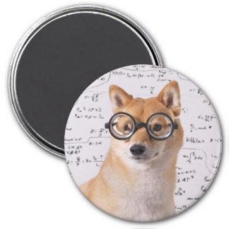 Professeur Barkley aimant rond de 3 pouces