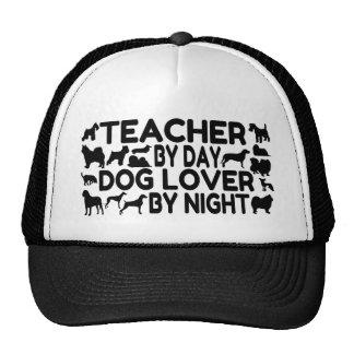 Professeur d'amoureux des chiens casquettes de camionneur