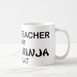 Professeur d'Anglais Ninja mortel Mug