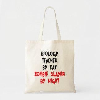 Professeur de biologie de tueur de zombi sacs en toile