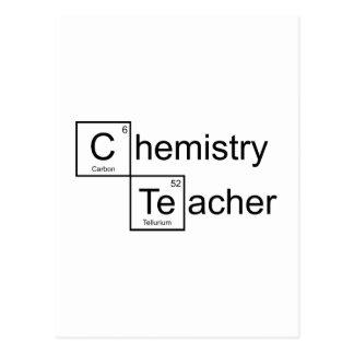 Professeur de chimie cartes postales