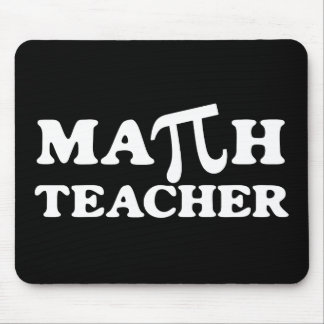 Professeur de maths pi tapis de souris