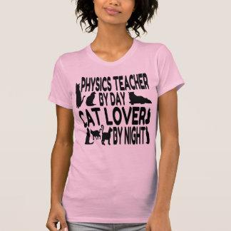 Professeur de physique d'amoureux des chats t-shirt
